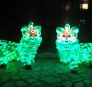 灯光南狮(绿色)